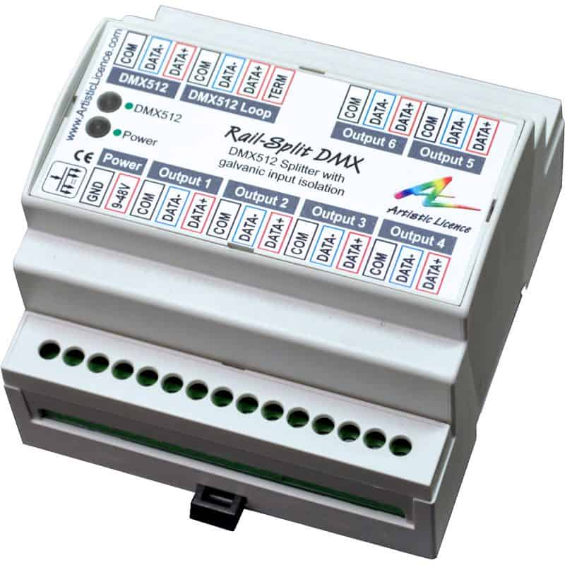 DMX/RDM Splitters