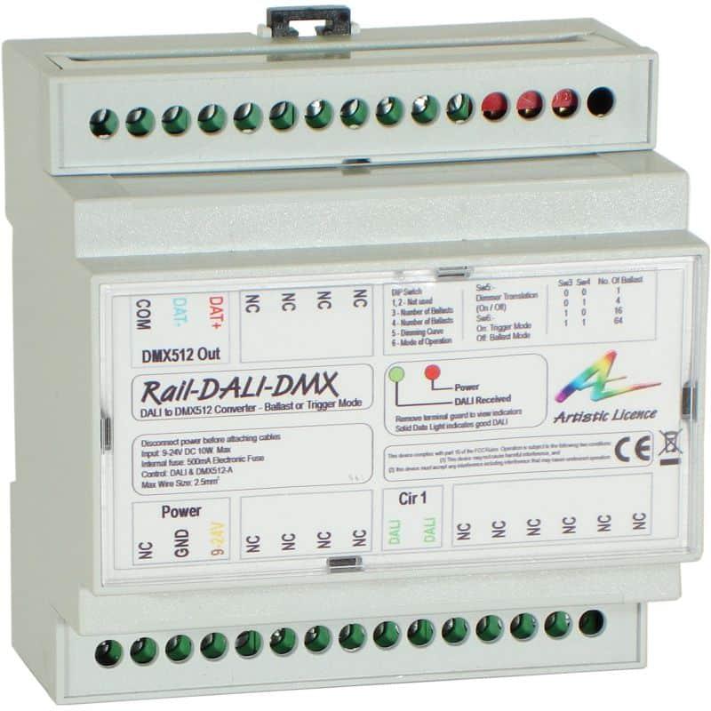 Rail-DALI-DMX