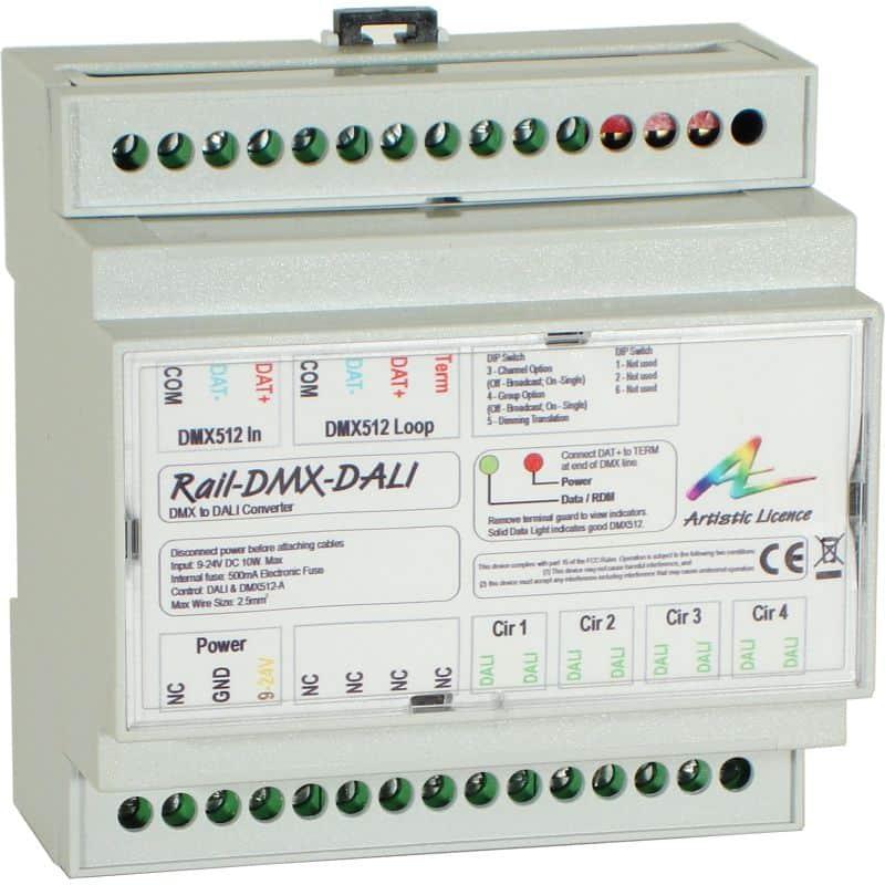 Rail-DMX-DALI