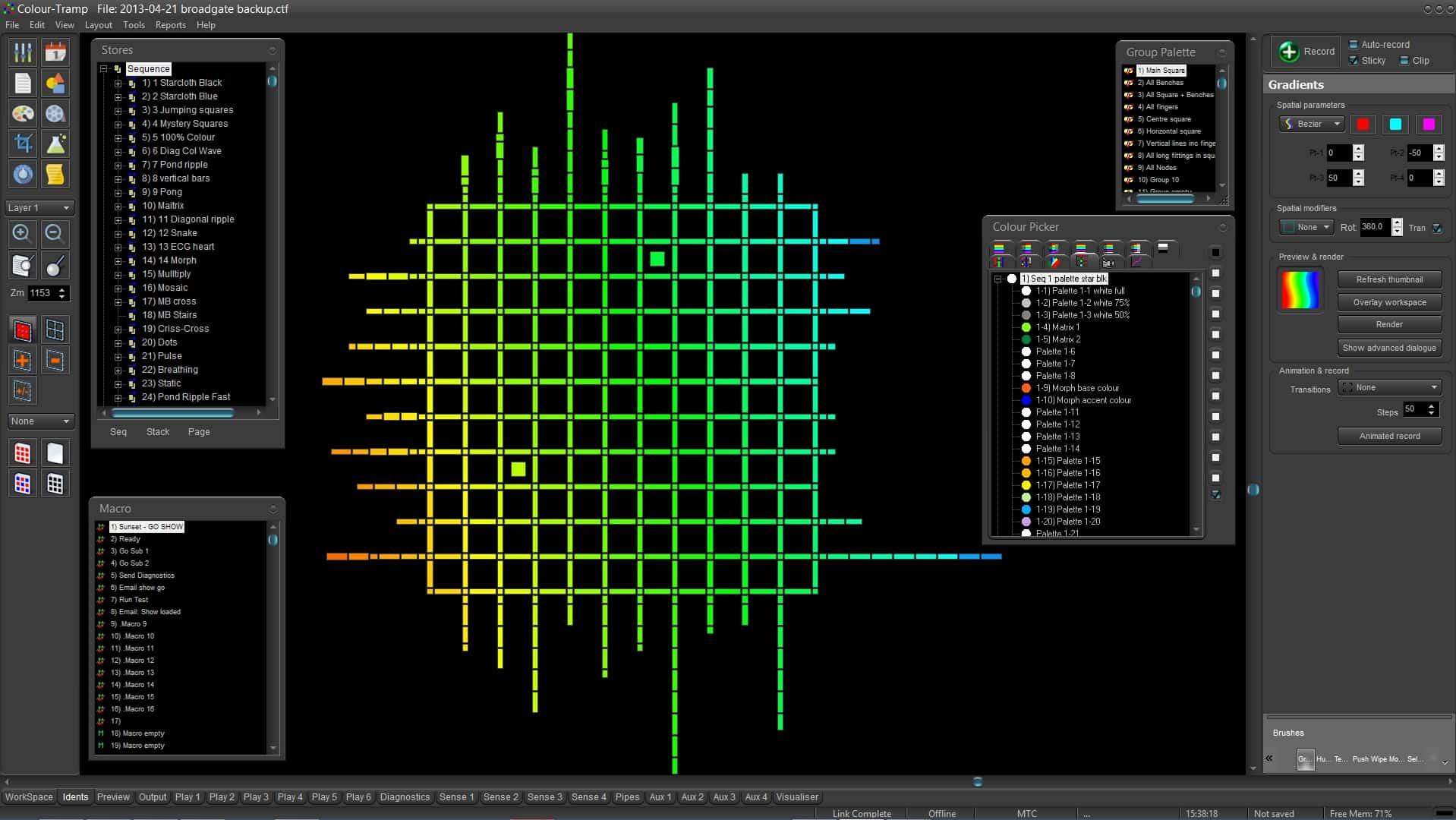 Colour-Tramp screenshot