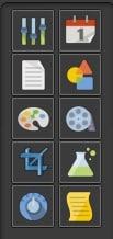 Colour-Tramp toolbar