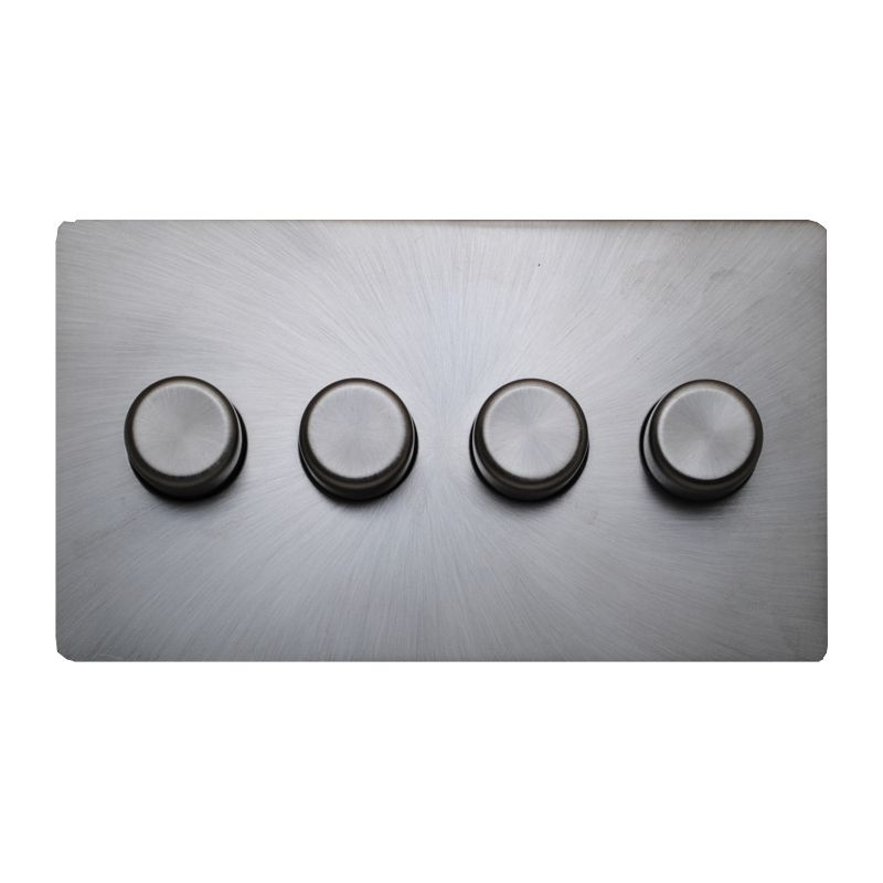 matisse d4 with brushed steel effect cover plate