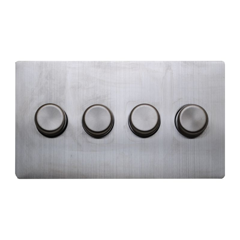 matisse d4 with stainless steel effect cover plate